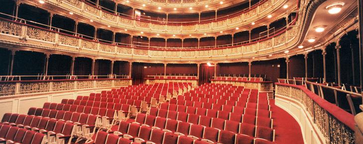 Interior del Teatro María Guerrero