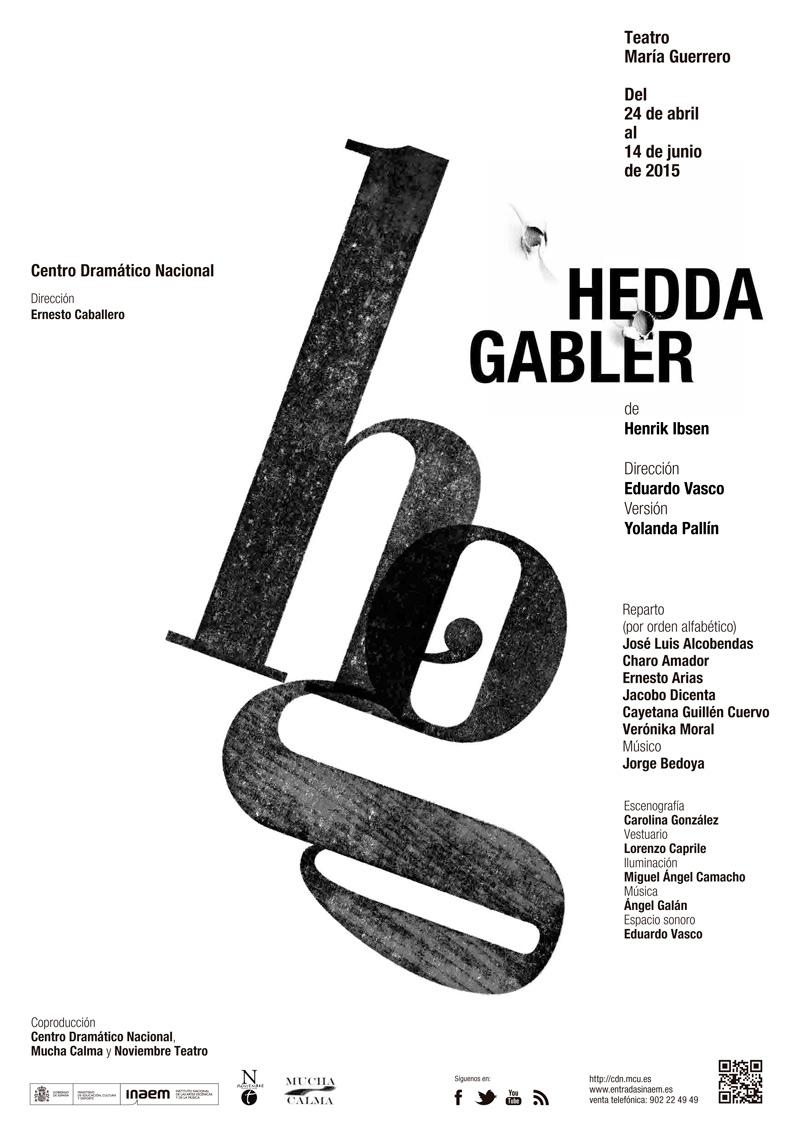 Cartel de Hedda Gabler
