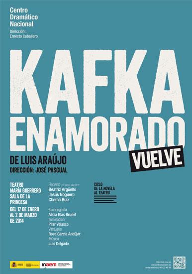 Cartel Kafka enamorado