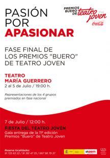 """XI edición Premios """"Buero"""" de Teatro Joven 2014"""