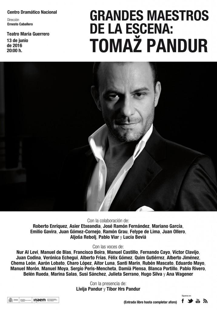 Grandes maestros de la escena: Tomaž Pandur