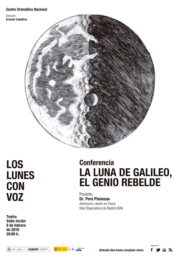 La luna de Galileo, el genio rebelde
