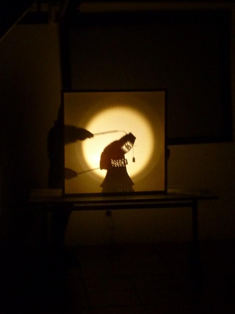 Foto de teatro de sombra