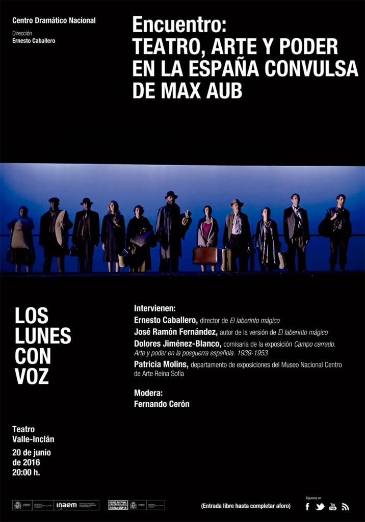 Imagen Teatro, arte y poder en la España convulsa de Max Aub (Los lunes con voz)