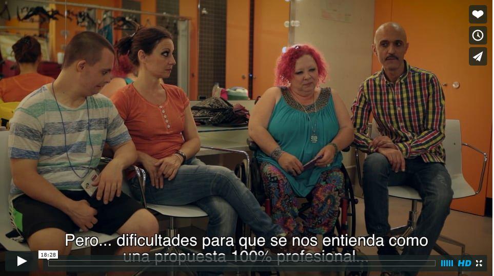 Documental sobre el festival Una mirada diferente 2015