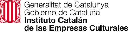 Logo del Instituto catalán de las empresas culturales