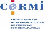 Logo CERMI (Comité español de representación de personas con discapacidad)