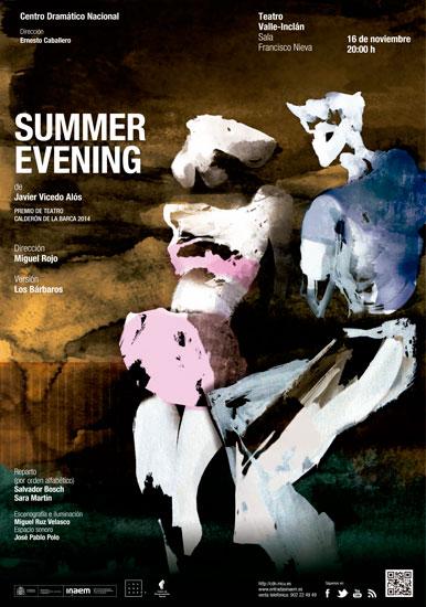 Summer Evening (Premio de Teatro Calderón de la Barca 2014)