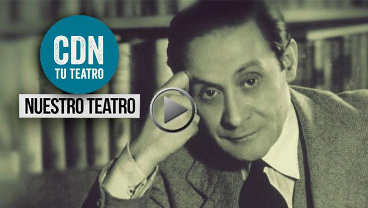 Cartel Nuestro teatro. Capítulo II. Enrique Jardiel Poncela
