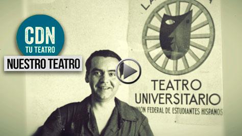 """Vídeo Nuestro teatro. Capítulo III. El Lorca """"irrepresentable"""""""