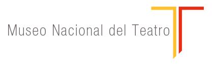 Logo Museo Nacional del Teatro