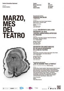 Marzo, mes del teatro