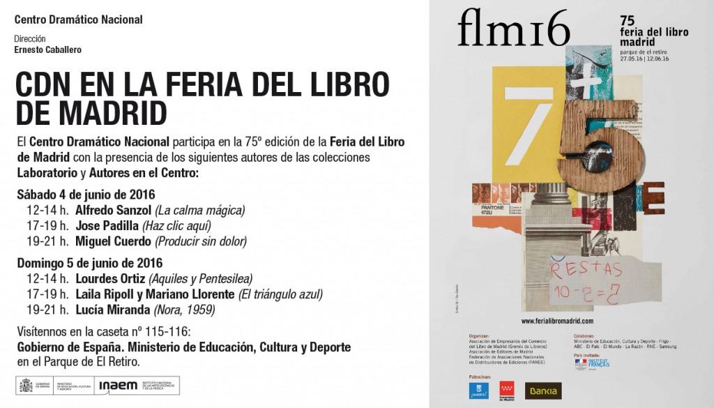 El CDN en la Feria del Libro de Madrid