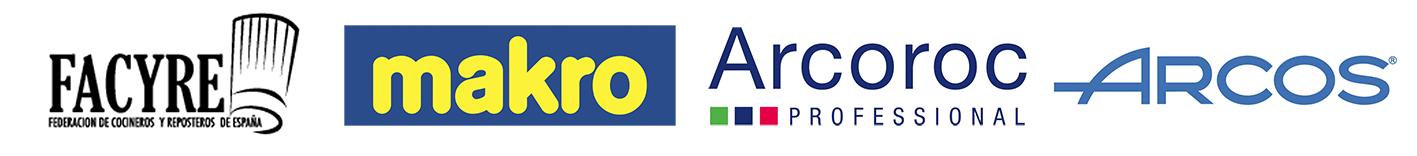 Logos Facyre, Makro, Arcoroc y Arcos