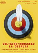 Cartel Voltaire Rosseau