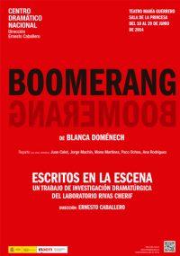 CDN - Boomerang (Escritos en la escena)