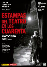 CDN - Estampas del teatro en los cuarenta