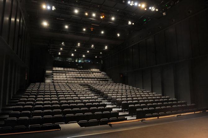 Interior de la sala principal del Teatro Valle-Inclán