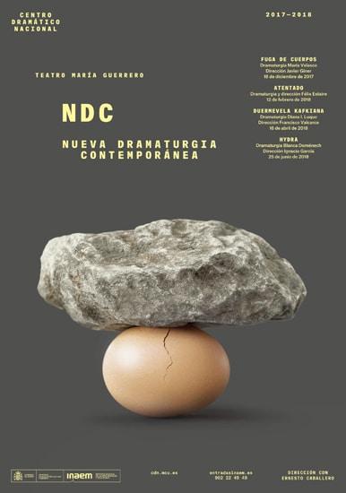 CDN - Fuga de cuerpos (Nueva Dramaturgia Contemporánea)