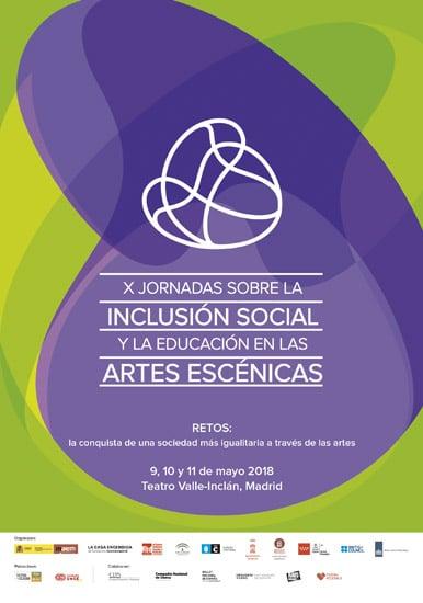 CDN - X Jornadas sobre la inclusión social y la educación en las artes escénicas