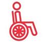 Logo accesible movilidad reducida