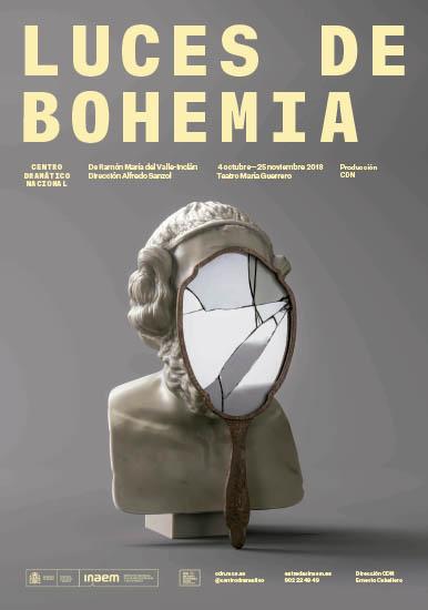 Cartel de Luces de Bohemia