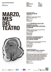 CDN - Marzo, mes del teatro