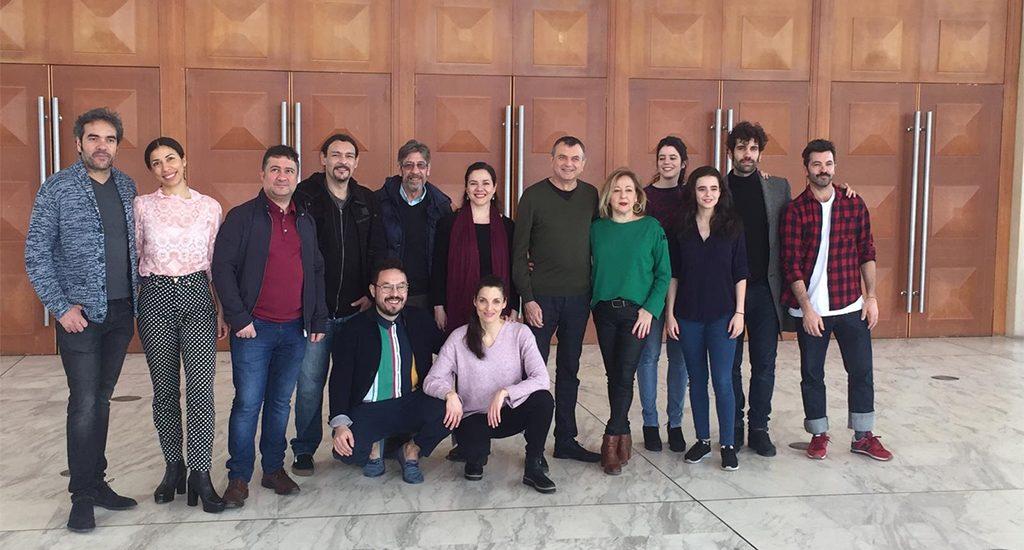 Encuentro con el equipo artístico de «El jardín de los cerezos» en Barcelona