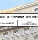 El Centro Dramático Nacional anuncia su avance de temporada entre septiembre y diciembre de 2020