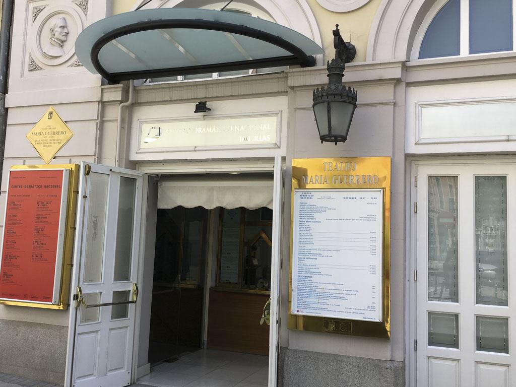 Taquilla Teatro María Guerrero