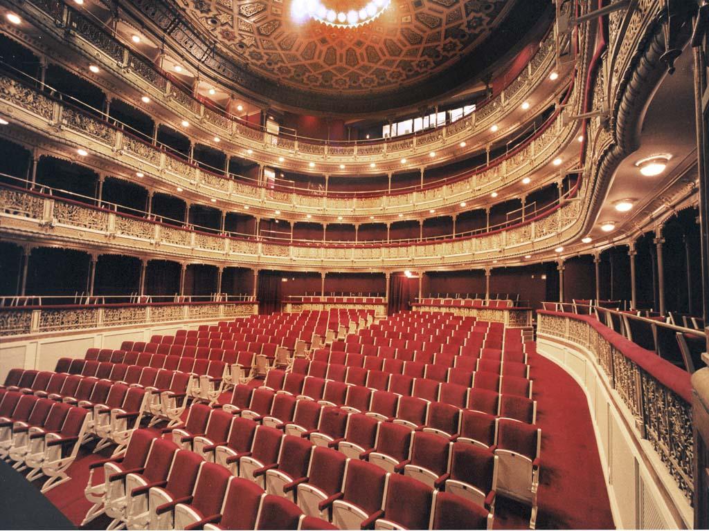 Imagen del interior del Teatro María Guerrero
