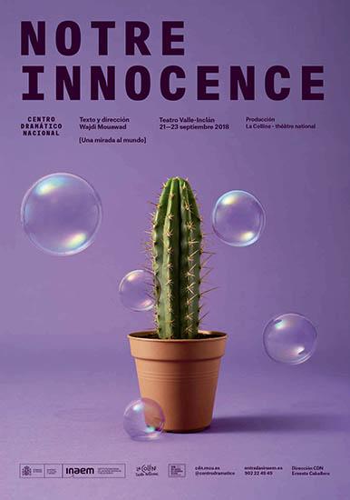 Cartel de Notre Innocence
