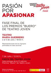 "CDN - XI edición Premios ""Buero"" de Teatro Joven 2014"