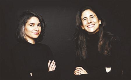 Foto de Andrea Jiménez y Noemí Rodríguez