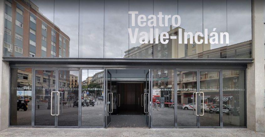 Fachada principal del Teatro Valle-Inclán