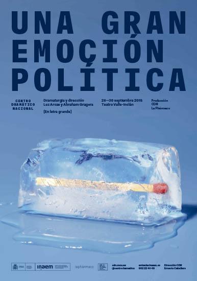 Cartel Una gran emoción política